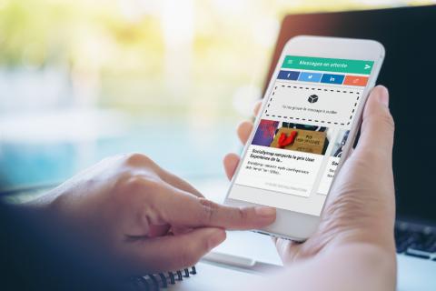 Le mobile comme atout dans une stratégie sur les réseaux sociaux ?