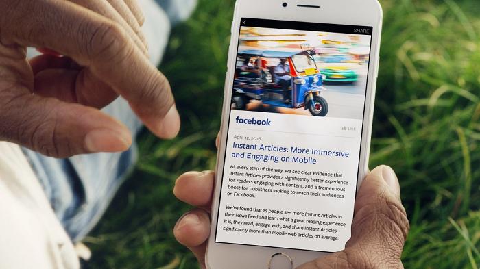 Passez aux Instant Articles de Facebook!